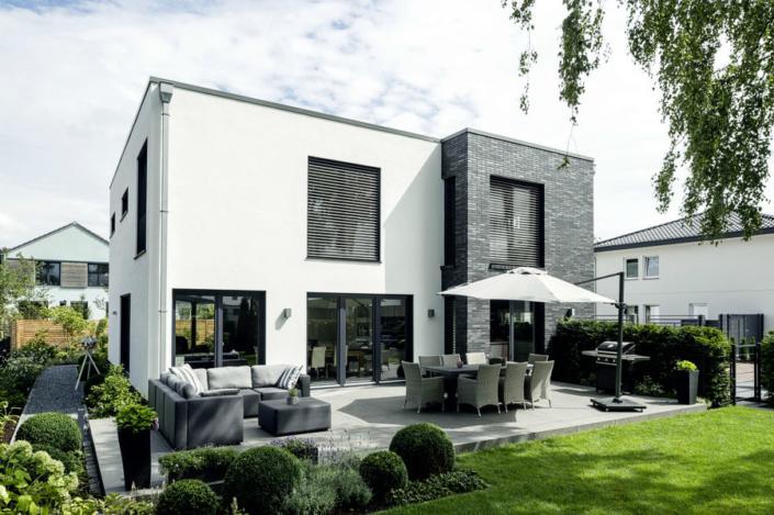 Moderne Architektur beim bau Ihres Einfamilienhauses.