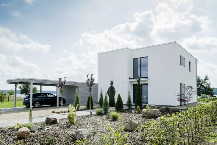 Moderne Architektur der Firma ARGE-HAUS.