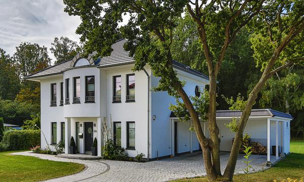 Hausbau an der Ostsee, Stadtvilla in Kühlungsborn.