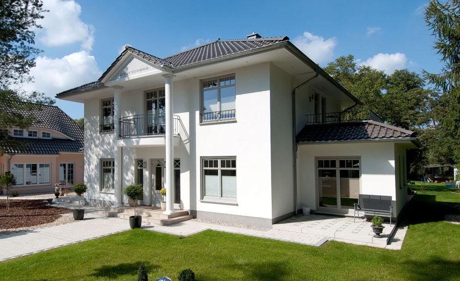Eine klasische Villa der Firma ARGE-HAUS.