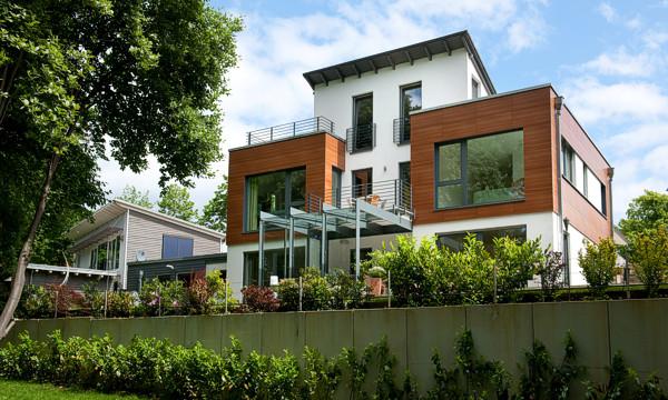 Massivhaus schlüsselfertig gebaut - ARGE-HAUS Hausbau