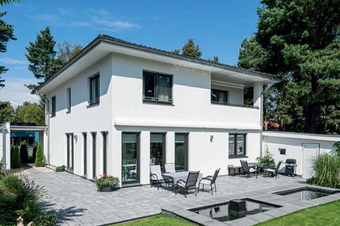 arge haus stadtvilla in berlin arge haus hausbau. Black Bedroom Furniture Sets. Home Design Ideas